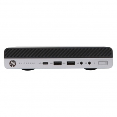 HP ELITEDESK 705 G4 DESKTOP MINI PC AMD Ryzen 5 2400G 8GB RAM 256GB Nvme 500GB SATA Windows 10 Pro