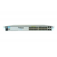 HP Enterprise Aruba 2620 24 PPoE+ 12-PoE Управляемый 28-ports