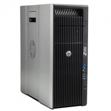 HP Workstation Z620 2x Intel Xeon 8Core E5-2650 v2 32GB RAM DDR3 12800R 256GB SSD nVidia Quadro NVS 800W